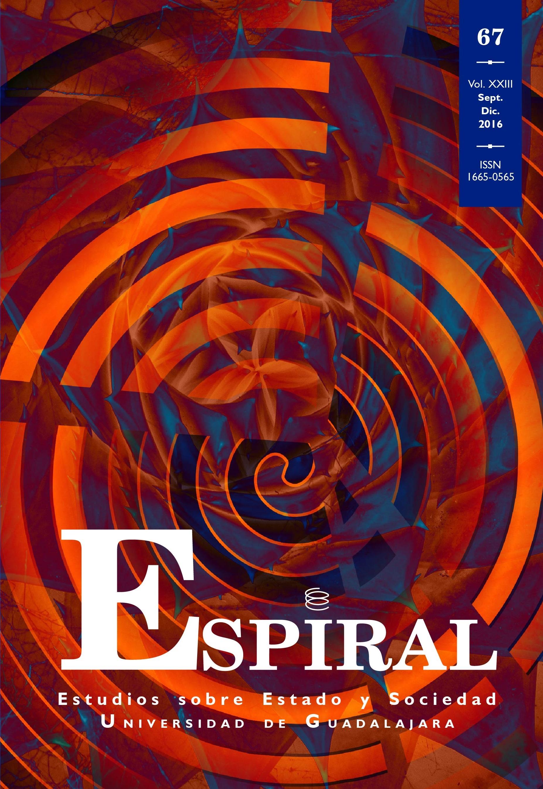 Ver Vol. 23 Núm. 67: Espiral 67 (septiembre-diciembre 2016)